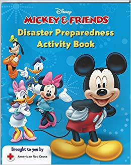 Book Mickey and Friends Disaster Preparedness Activity Book