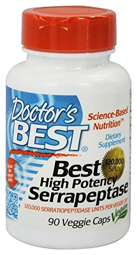 Best High Potency Serrapeptase VegiCaps