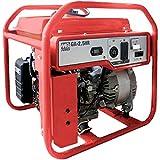 Multiquip GA25HR Generator Set Honda GX160 Recoil, 2.5kW, Red
