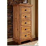 Progressive International 5-Drawer Lingerie Chest