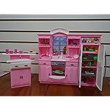 Barbie Size Dollhouse Furniture - My Fancy Life Kitchen Play Set