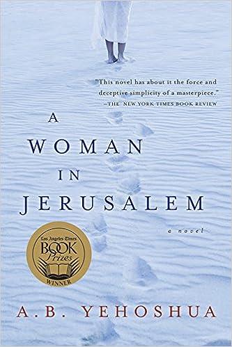Amazon A Woman In Jerusalem 9780156031943 A B Yehoshua