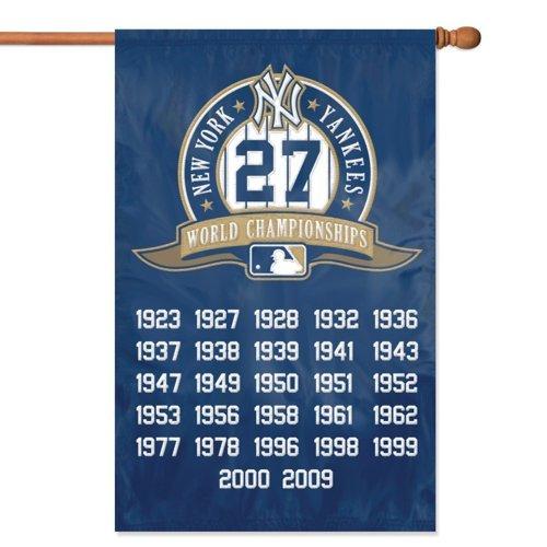 "New York Yankees MLB Applique Banner Flag """