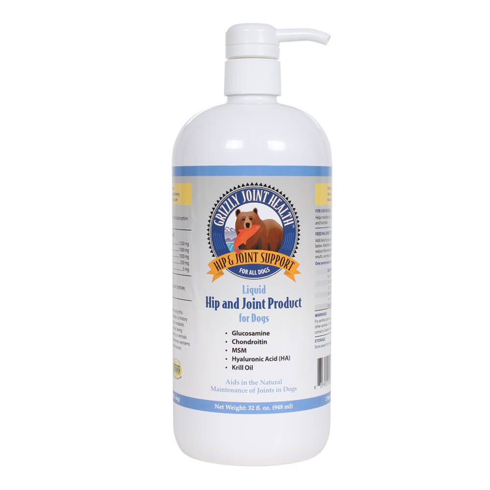 Grizzly Pet Products Grizzly Joint Health Liquid Hip & Joint Product, 32 oz