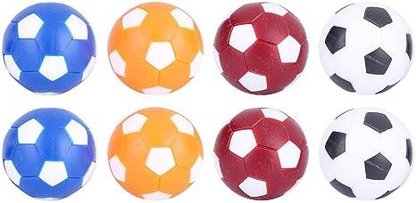 Dilwe Mini Bolas de Reemplazo de Futbolines Bola de Reemplazo de Balones de Futbolín de Mesa 36MM: Amazon.es: Deportes y aire libre