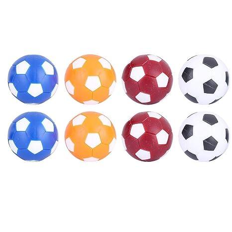 Dilwe Mini Bolas de Reemplazo de Futbolines Bola de Reemplazo de ...