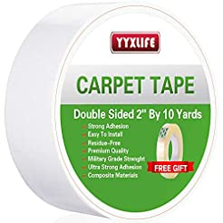 YYXLIFE Double Sided Carpet Tape for Are...
