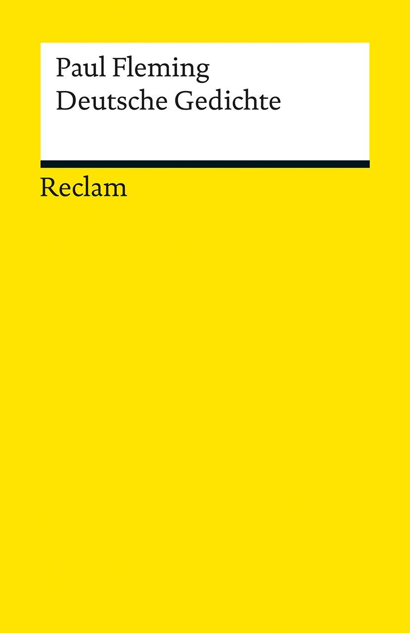 Deutsche Gedichte (Reclams Universal-Bibliothek)