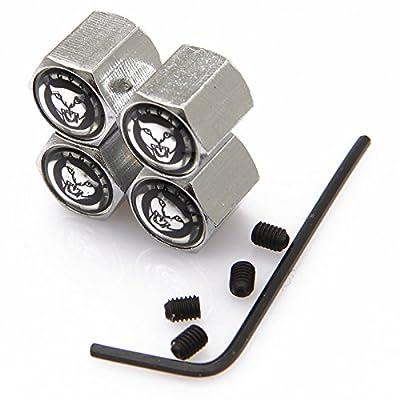 CzlpV Anti-theft Metal Car Wheel Tyre Tire Stem Air Valve Cap For Jaguar (Style 2): Automotive