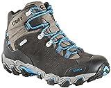 Oboz Bridger Mid B-Dry Hiking Boots - Men's Shale Gray 8.5