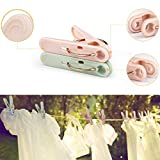 Plastic Clothespins, 32 Pack Laundry Clothes Pins