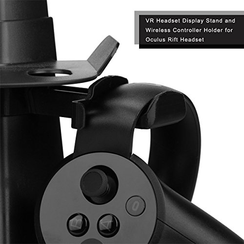 AFATIH VR Stand,Headset Display Stand for Oculus Rift or Rift S Headset. VR Holder for Most VR Glasses-HTC Vive,Playstation VR and More