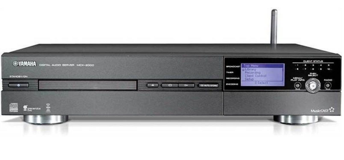 Yamaha MCX-2000 Digital Audio Server (Discontinued by Manufacturer)