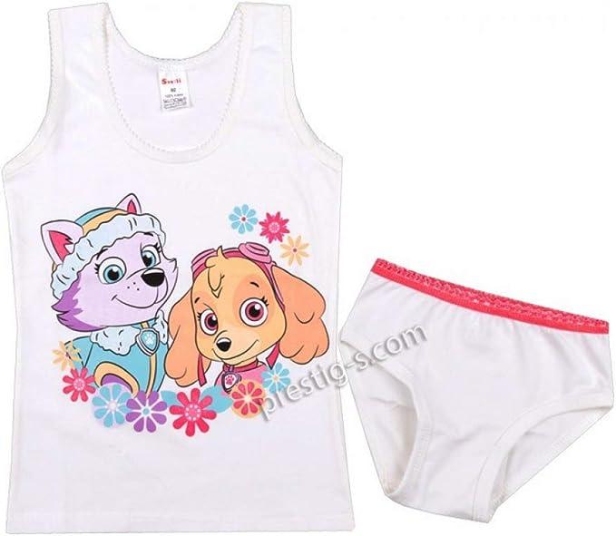 Ropa interior para niña, juego de 2 piezas, algodón, rosa, Minnie ...