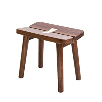Brilliant Amazon Com Lhnly Ottoman Foot Rest Stool Seat Solid Wood Pdpeps Interior Chair Design Pdpepsorg