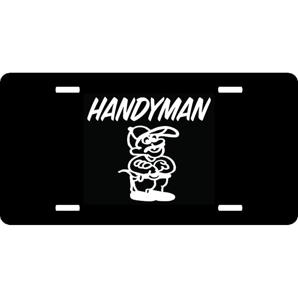4 Holes Aluminum Front Auto Car Tag Sign Vanity Car Accessories URCustomPro Custom Personalized License Plates Cover Humor Funny