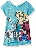 Disney Girls' Frozen Short Sleeve Tee Shirt