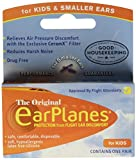 Earplanes Childrens Ear Plugs Disposable, 1 Pair Pack of 4