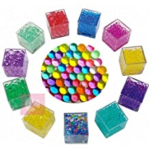 Great Deal 10000Pcs Crystal Mud Water Beads Soft Bullets Kids Toy Jelly Beads Vase Filler Decoration