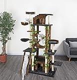Go Pet Club 77-Inch Cat Tree, Brown/Black