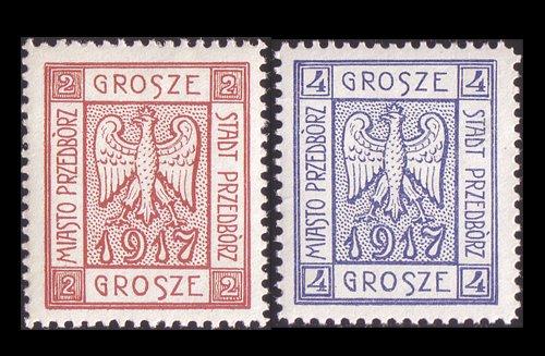 Goldhahn Polen Lokalausgabe PROTborz Nr. 1-2A postfrisch  Briefmarken Briefmarken Briefmarken für Sammler 10eb53