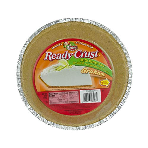 Ready Crust Reduced Fat Graham (9-Inch) Pie Crust, 6-Ounce Packages (Pack of 12) ()