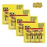 HWTONG Sticky Fly Ribbons, Fly Trap, Fly Catcher Ribbon, Fly Paper Ribbon, Fly