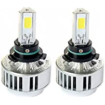 Automotive HB4 9006 72W Headlight Bulbs LED Conversion Kit Xenon 6000K White Halogen/HID Replacement