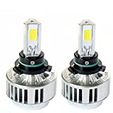 Automotive HB3 9005 72W Headlight Bulbs LED Conversion Kit Xenon 6000K White Halogen/HID Replacement