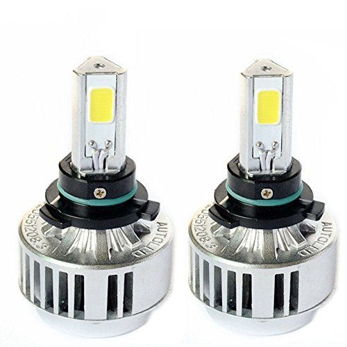 Hid Xenon Conversion Replacement Bulbs (Automotive HB4 9006 72W Headlight Bulbs LED Conversion Kit Xenon 6000K White Halogen/HID)