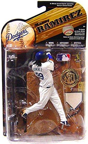 McFarlane Toys MLB Sports Picks Series 25 (2009 Wave 2) Exclusive Action Figure Manny Ramirez (Los Angeles Dodgers) (Wave Mlb 2009)