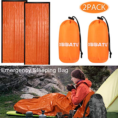 🥇 DIBBATU Emergency Survival Sleeping Bag
