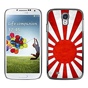 LJF phone case Shell-Star ( National Flag Series-Japanese Naval Ensign ) Snap On Hard Protective Case For Samsung Galaxy S4 IV (I9500 / I9505 / I9505G) / SGH-i337