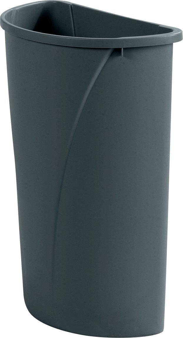 Carlisle 34302106 Centurian Polyethylene Half Round Container, 21 Gallon Capacity, 11-1/2
