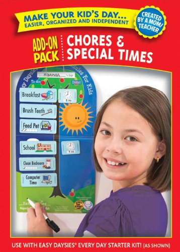 Easy Daysies Chores & Special Times Add-On Pack by Creative Teaching Press