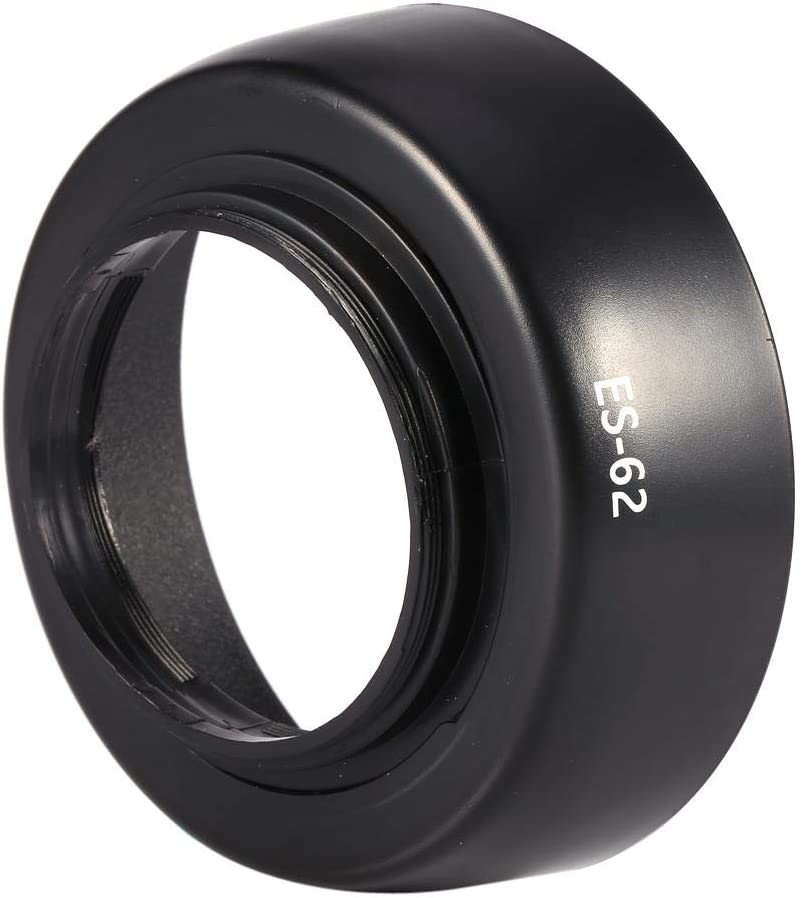 Can Firmly Mounted on The Lens Bewinner Len Hood,New ES-62 Lens Hood for Canon EOS EF 50mm f//1.8 II ES62 Bayonet Lens Twist Lock,Easy Installation