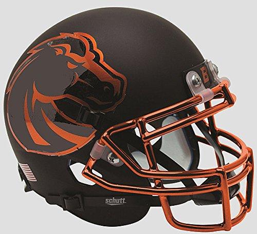 Boise State Broncos Mini XP Authentic Helmet Schutt Halloween - NCAA College Football Licensed - Boise State Broncos (Boise State Football Halloween Helmet)