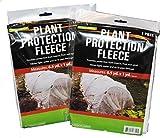 Plant Protection Fleece 6.5 yard x 1 yard (2 pack)