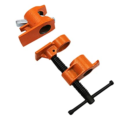 Amazon Com Wood Gluing Pipe Clamp Set Pulison 3 4 Wood