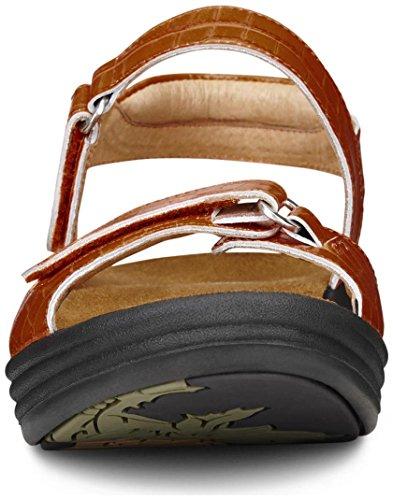 Dr. Comfort Women's Rachel Peanut Brittle Sandals by Dr. Comfort (Image #6)