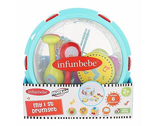 Infunbebe My 1st Drum Set
