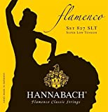 Hannabach Strings for classical guitar Series 827 Super Low Tension Flamenco classic Set of 3 treble