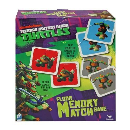 (UPD Teenage Mutant Ninja Turtles Memory Match)