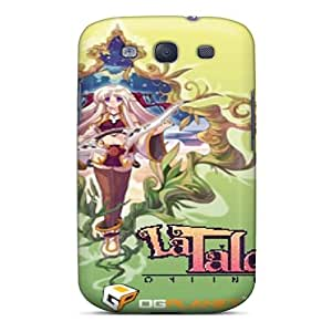 First-class Case Cover For Galaxy S3 Dual Protection Cover La Tale Iris Ivy
