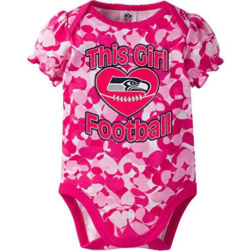 Infant Girl Apparel (NFL Seattle Seahawks Girls
