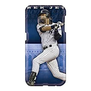 Excellent Cell-phone Hard Cover For Samsung Galaxy S6 (USZ29960tzTO) Allow Personal Design High-definition New York Yankees Image