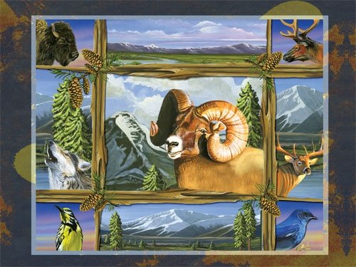 Serendipity Big Sky Country 1000 Piece Jigsaw Puzzle