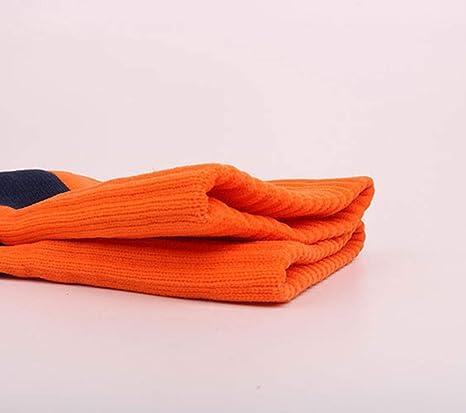 2 Pares Calcetines de f/útbol Antideslizantes Calcetines de Toalla Gruesos Calcetines de Tubo Alto para Hombres Calcetines de Entrenamiento para Adultos YOUSI Calcetines de presi/ón