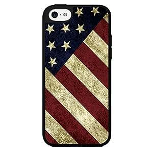 Fun American Flag Design Hard Snap on Phone Case (iPhone 5c)