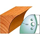 CMT 690.567 Profiled Knives for Shaper Cutters, 1-31/32-Inch Cutting Length, 5/32-Inch Thickness - 2-Pack